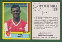 Arsenal Paul Davies 17
